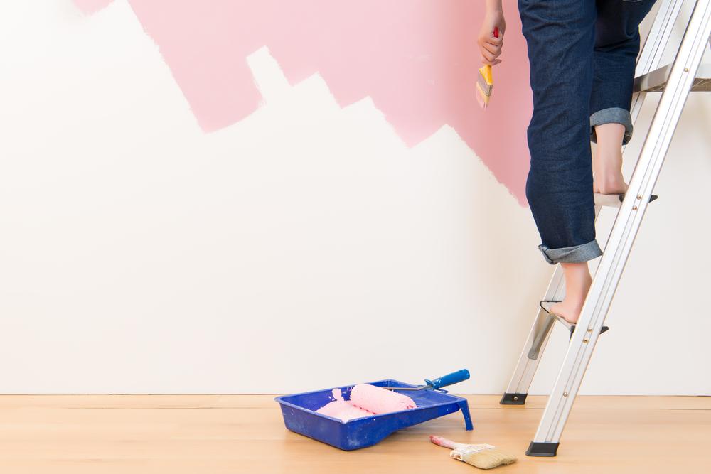 alugar meu apartamento - pintura