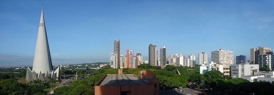 como escolher apartamento em maringá - foto panoramica
