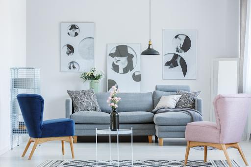 decoração em apartamento alugado - quadros