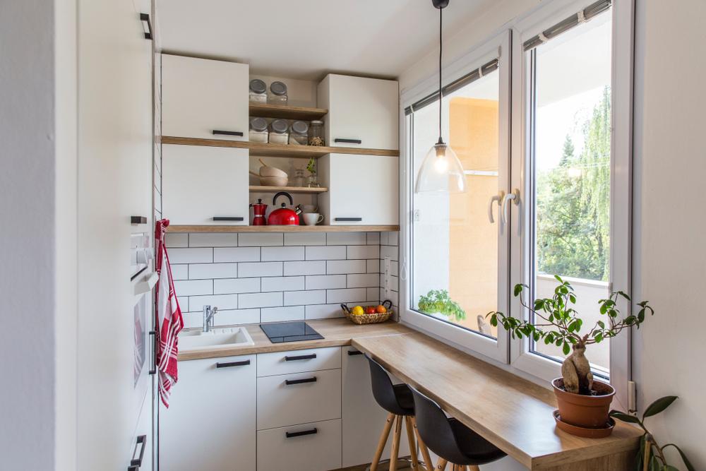 moveis essenciais para morar sozinho - balcao
