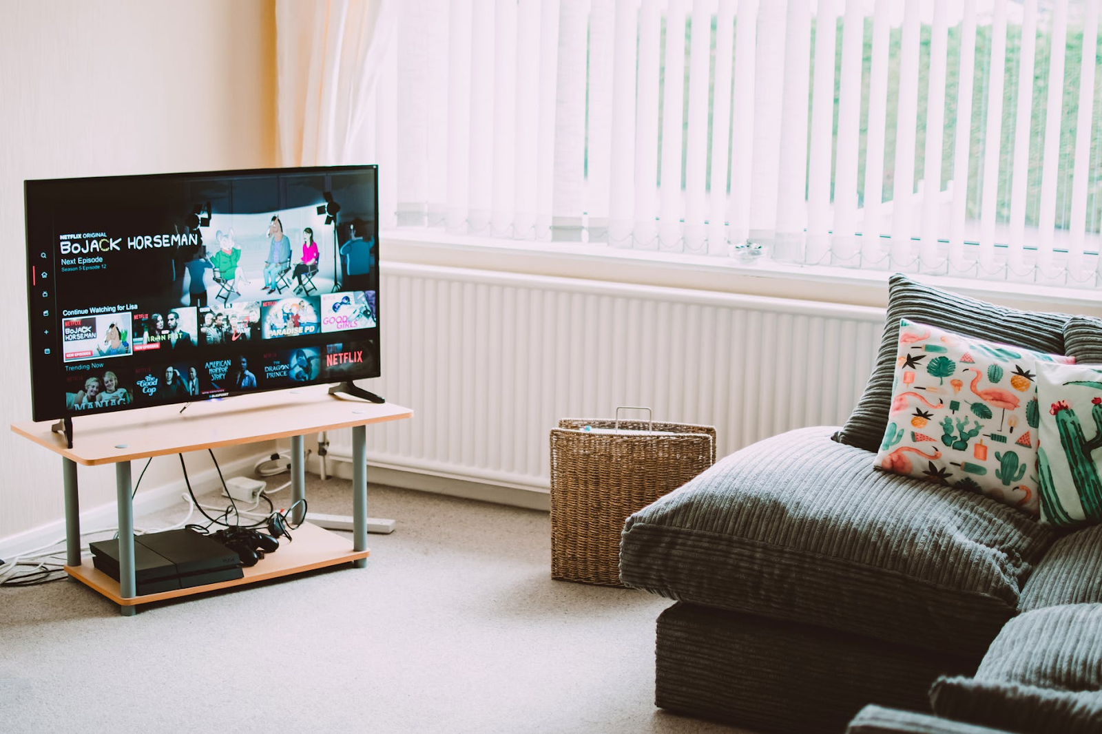moveis essenciais para morar sozinho - televisão